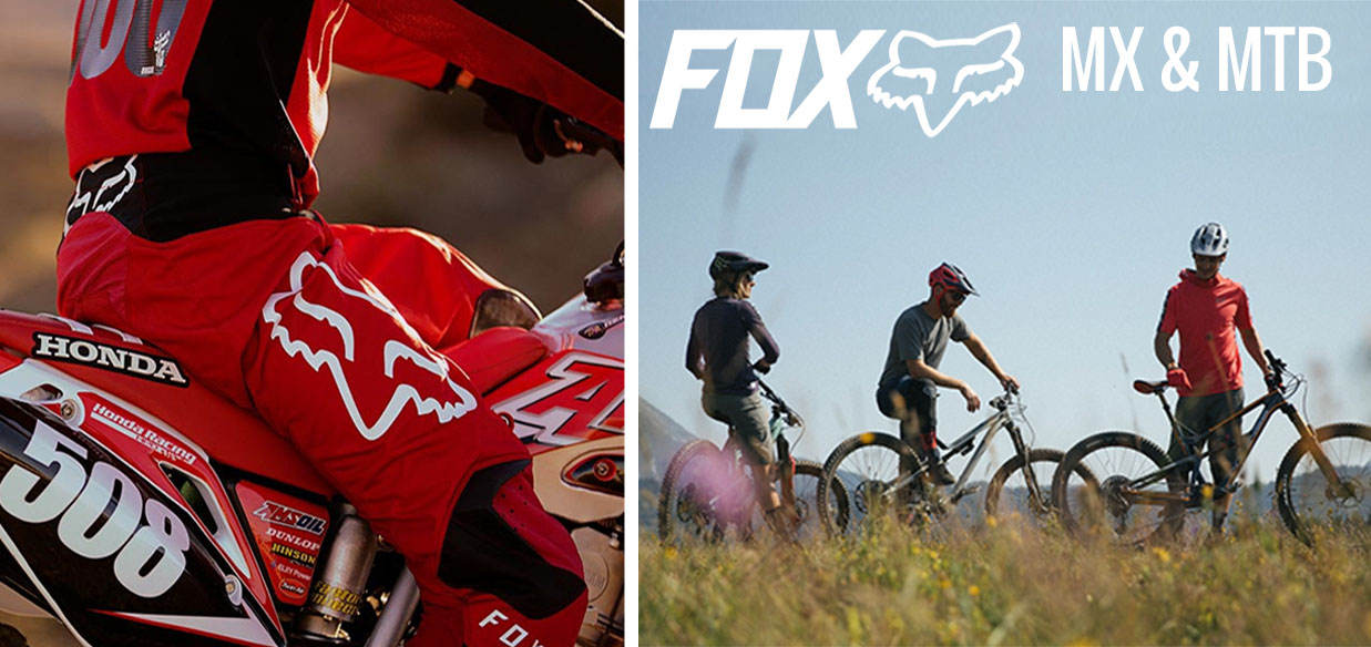 the new FOX MX and MTB