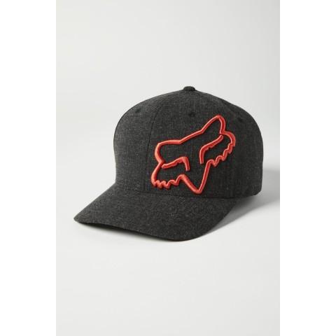 Fox CLOUDED 2.0 Flexfit Cap schwarz orange