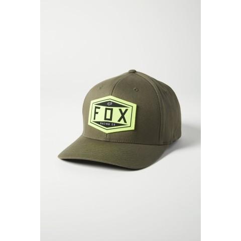 Fox EMBLEM Flexfit Cap grün