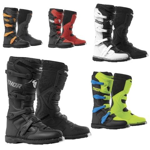 Gr/ö/ße Thor Blitz XP Boots Stiefel Enduro Motocross MX rot schwarz 2019 EU 42 Gr/ö/ße 8