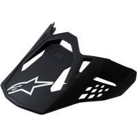 Alpinestars SM8 / SM10 Helmschirm schwarz matt OS