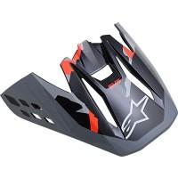 Alpinestars SM5 Helmschirm Rover grau rot OS