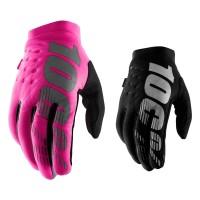 100% Brisker Girls Handschuhe in Rosa Schwarz
