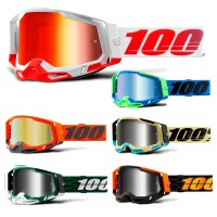 100% Racecraft 2 Graphic Crossbrille verspiegelt