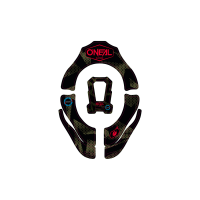 Oneal Tron Covert Nackenschutz schwarz grün