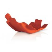 Acerbis Motorschutz Skid Plate für KTM 350 EXC orange
