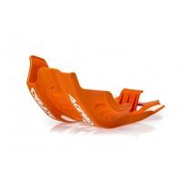 Acerbis Motorschutz Skid Plate für KTM EXC-F 450/500 17 orange 2