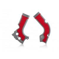 Acerbis Rahmenschützer X-GRIP CRF 450 13 silber rot