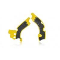 Acerbis Rahmenschützer X-GRIP für Suzuki RMZ 450 gelb schwarz