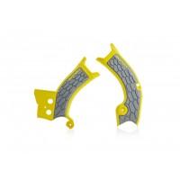Acerbis Rahmenschützer X-GRIP SUZ RMZ450 2018 gelb grau