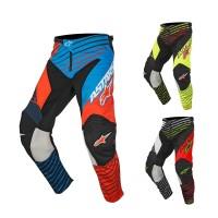 Alpinestars Racer Braap MX Kinder Hose in Orange, Blau, Schwarz, Neongelb, Rot