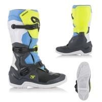 Alpinestars TECH 3 MX Stiefel schwarz neon gelb
