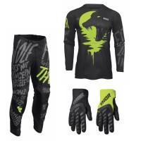 Thor Pulse Combo Counting schwarz neon Hose Jersey Handschuhe