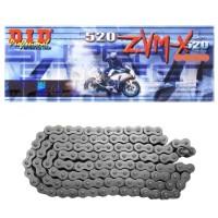 Motoradkette von DID schwarz Motocross Kette, Enduro Kette, 520er X-Ring Kette, Offroad Kette