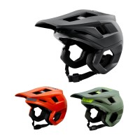 Fox Dropframe Pro MTB Color Halbschalen Helm