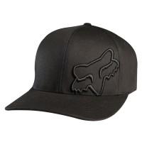 Fox Flex 45 Flexfit Cap in Schwarz, Grau