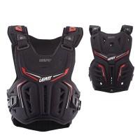 Leatt Brustpanzer 3DF schwarz rot Chest Protector MX Enduro Motocross
