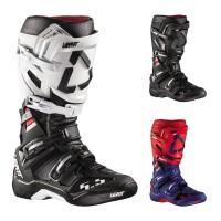 Leatt GPX 5.5 FlexLock MX Stiefel in Schwarz, Weiß, Blau, Rot