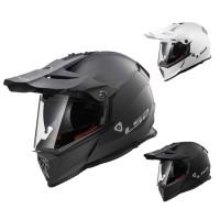 Helm mit Visier & Schirm von LS2  LS2 Helm, Enduro Helm mit Visier, MX436 Helm