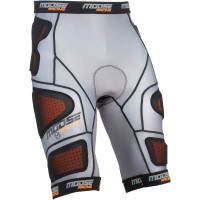 Moose Base Protektor Short schwarz grau