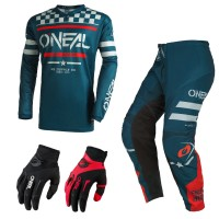 Oneal Element Squadron Combo blau Jersey Crosshose