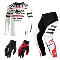 Oneal Element Squadron Combo weiss Jersey Crosshose