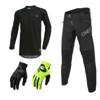 Oneal Legacy Combo schwarz Element Jersey MTB Hose