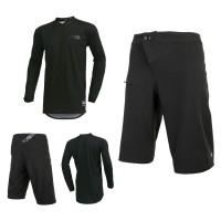 Oneal Matrix Short Combo schwarz Element Jersey MTB Hose