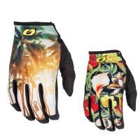Oneal Mayhem Handschuhe  in Schwarz, Rot, Orange, Gelb, Grün, Bunt