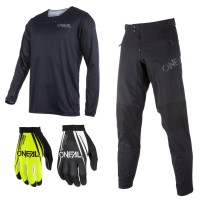 Oneal Trailfinder Combo schwarz Jersey MTB Hose