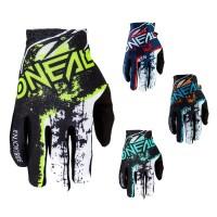 Oneal Matrix Impact Handschuhe in Schwarz, Neongelb, Orange, Blau, Rot