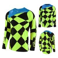 Troy Lee Designs SE Joker MX Jersey gelb schwarz