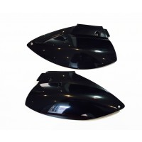 rear Seitenteile in schwarz, Startnummerntafel hinten, LC4 Side Panels, KTM LC4 Startnummernfelder
