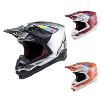 Alpinestars Supertech M8 Contact Crosshelm