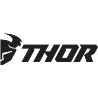 Thor 6-PACK DIE-CUT DECALS 7,62 CM schwarz weiss