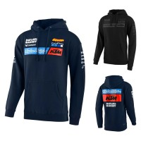 Troy Lee Designs KTM Team Hoody Pullover in Blau, Schwarz