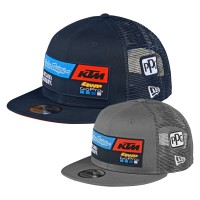 Troy Lee Designs KTM Team Snapback Hat Flat in Blau, Grau