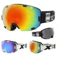 TWO-X AIR Skibrille verspiegelt in Schwarz