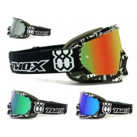 TWO-X Race Crossbrille verspiegelt Text