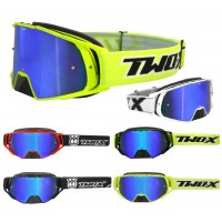 TWO-X Rocket Motocross Brille blau verspiegelt