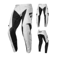 Shift WHIT3 LABEL SALAR Crosshose LE weiss silber
