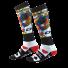 Oneal Pro MX Kingsmen Socken weiss schwarz rot