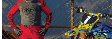 Oneal Motocross Fahrer und Motorrad